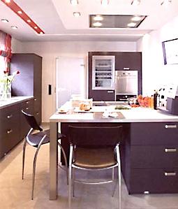 Eine von uns geplante und realisierte Küche im Sonderkatalog von Leicht